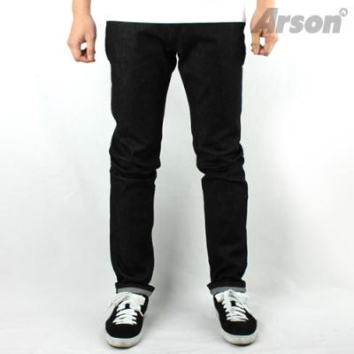 [ARSON] 알슨 #1404 SLIM STRAIGHT JEANS 30-34 (BLACK)
