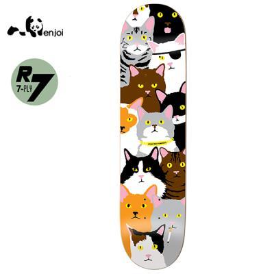 [ENJOI] BEN RAEMERS CAT COLLAGE R7 DECK 31.7 x 8.0