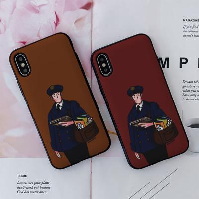 아이폰8 옌투옌 Mailman 카드케이스
