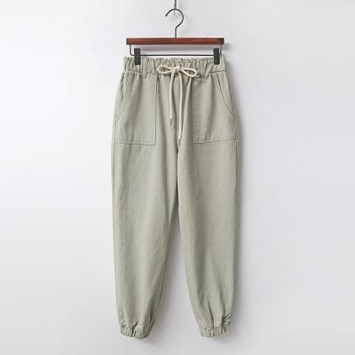 Khaki Jogger Jeans
