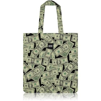 nother Dollar Bills Flat Tote Bag / 나더 달러 패턴 플랫 토트백