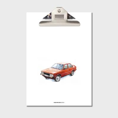 강민석 에디션 클립보드 A4 no.001
