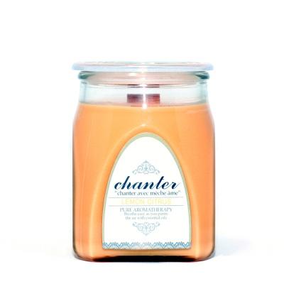 [샹떼] 레몬 시트러스 Lemon Citrus - 자캔들 라지 430g : 소이캔들 & 우드심지