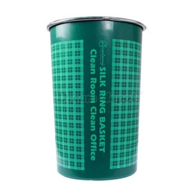 [A.S코리아] 실크링휴지통 (대) 녹색 12.2L [개/1] 82635