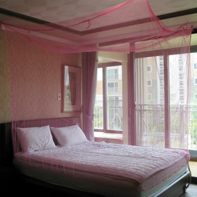 핑크소형모기장 침대용 소형 공주모기장 방충
