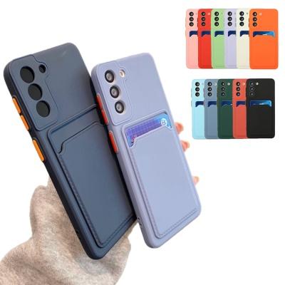 아이폰13 프로 맥스 미니 컬러 젤리 카드 포켓 케이스