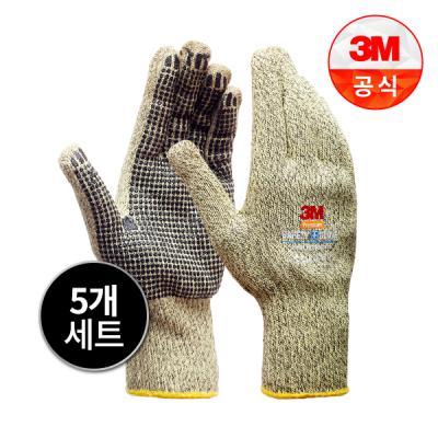 [3M]Safety Glove 뜨거운물체작업용 방열 안전장갑_XL 5개세트