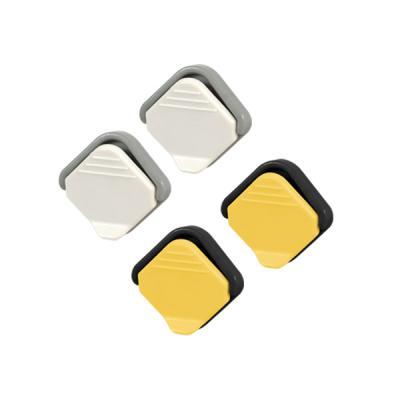냉장고 화이트보드 마그네틱 메모자석 클립홀더 2개입