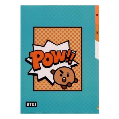 [BT21] 3 포켓 파일 폴더 / 슈키(SHOOKY)