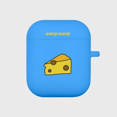 Cheese piece-blue(Air Pods)