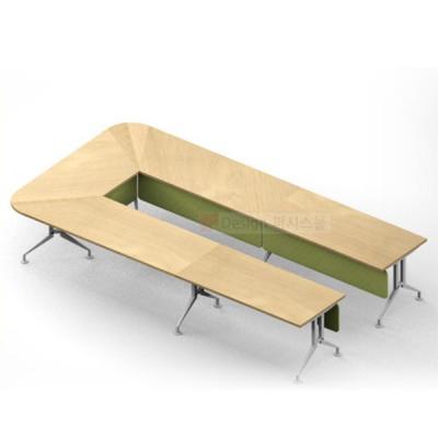 퍼시스 FRX 9인용 조합형 사무실 회의 테이블 CAR17M