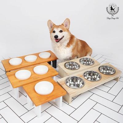 [딩동펫]애견 원목식기 강아지원목식기