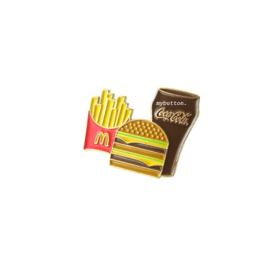 맥도널드 핀뱃지 _ Meal