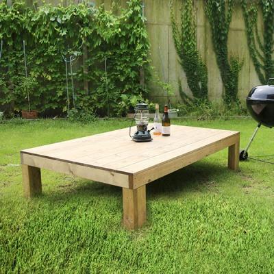 원목평상 야외가구 DIY 옥상테이블 중형 2종