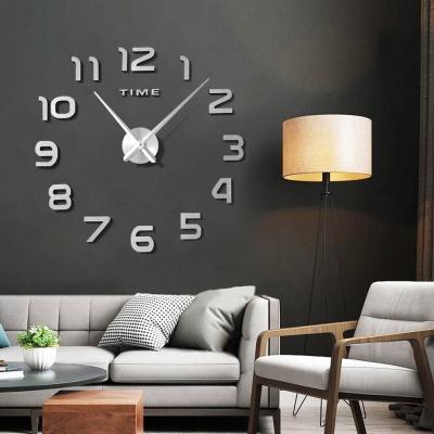 DIY 실버 숫자 붙이는 벽시계