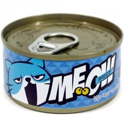 고양이 간식 캔 통조림 미아오캔 치어 참치 85g