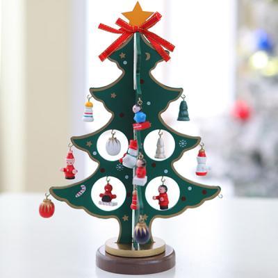 크리스마스 4단 엔젤 입체 목각트리