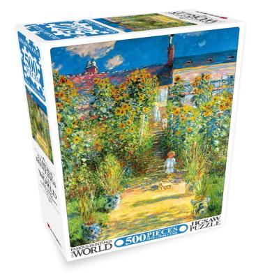 세계의 명화 직소퍼즐 500pcs 베퇴유의 예술가 정원