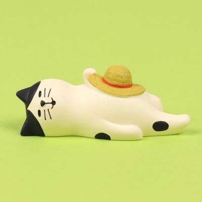 concombre 얼룩고양이 낮잠