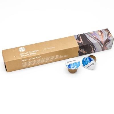 웨이브온 디카페인 캡슐커피(네스프레소 호환용)10개