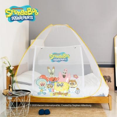 스폰지밥 대형 원터치 텐트 모기장 SBM-N01