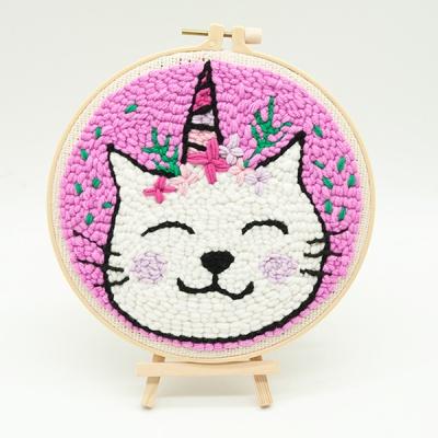 펀치니들 고양이 DIY 키트