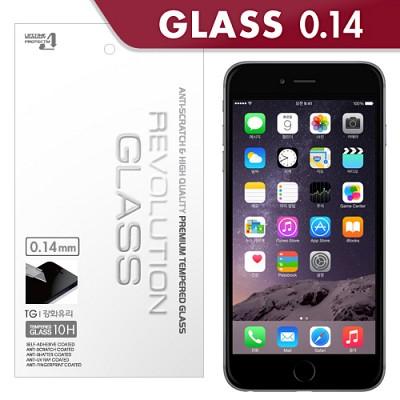 [프로텍트엠/PROTECTM] 아이폰6 플러스 iPhone6 plus 5.5인치 레볼루션글라스 0.14mm 피코슬림 강화유리 액정보호방탄유리/방탄필름
