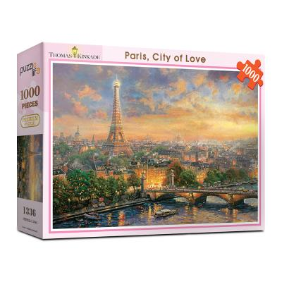 1000피스 사랑의도시 파리 직소퍼즐 PL1336