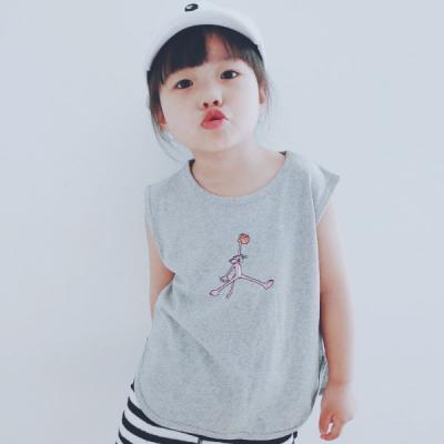 핑크팬더 스포티 민소매 티셔츠 T146
