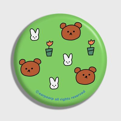 Bear and rabbit-green(거울)
