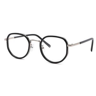 shine 각진 얇은 뿔테 검정 안경 뿔테 패션안경