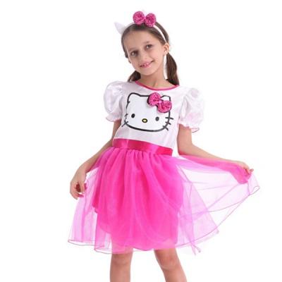 캣 미니 드레스