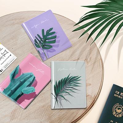 [루카랩] 가든 여권지갑 - Garden Passport wallet