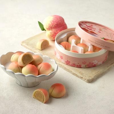 [오븐] 달콤하고 촉촉한 복숭아빵 7개입