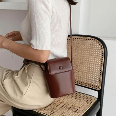 심플 데일리 가죽 크로스 미니백 숄더백 여성 가방