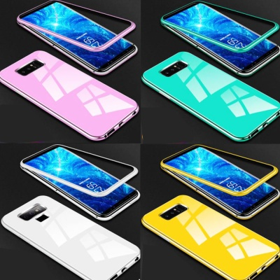 아이폰11 PRO MAX/강화유리 마그네틱 하드 범퍼케이스