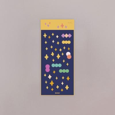 [호호문방구] 반짝반짝 홀로그램 스티커