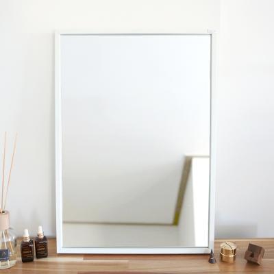 허니 500X700 화장대 탁상 거울 화이트
