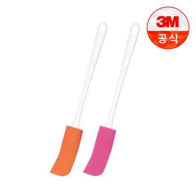 [3M]보틀수세미 플라스틱병용 1개+유리병용 1개