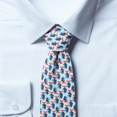 남자 프룻 스카이 면 넥타이