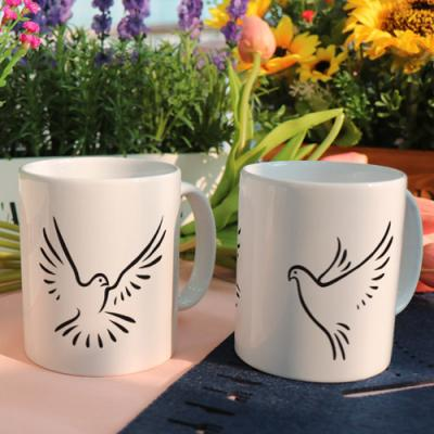 cf976-디자인머그컵2p-비둘기의날개짓