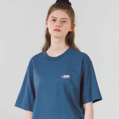 아치 그라데이션 반팔티셔츠 (블루)