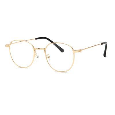 shine 골드 3줄 안경 금속테안경 메탈안경 패션안경