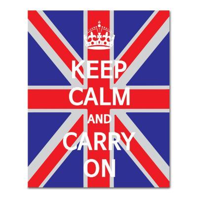 DIY 페인팅 keep calm and carry on P9 (40x50)