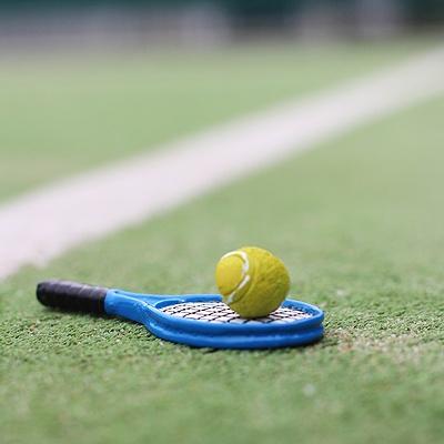 [콩지] 미니어쳐 테니스 라켓 n 공 SET