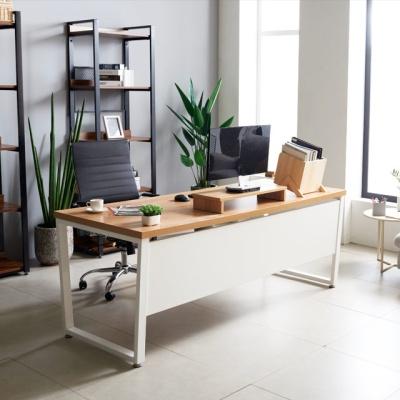 (특가-행사) 화이트뷰 1800 철제 책상 사무실테이블