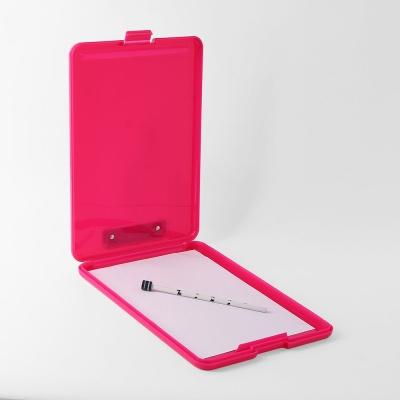 A4 클립보드 파일케이스(핑크)