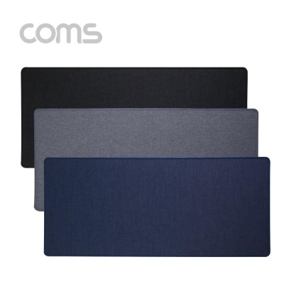 Coms 패브릭 키보드 패드 Jean 300 x 700 x 3 (mm) 청