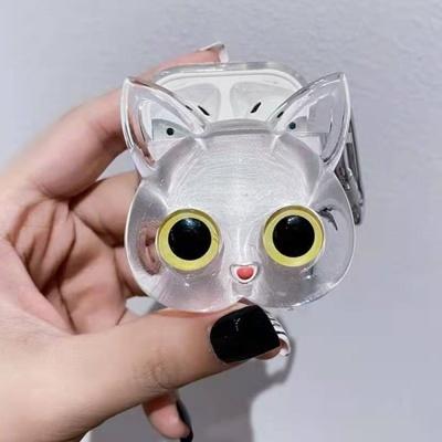 에어팟 1 2 세대 프로 고양이 입체 투명 실리콘케이스