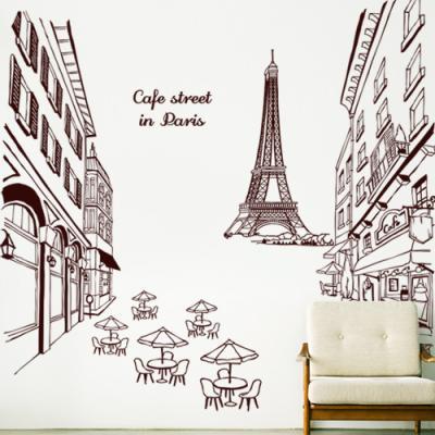 ih613-에펠탑이있는카페거리_포인트스티커